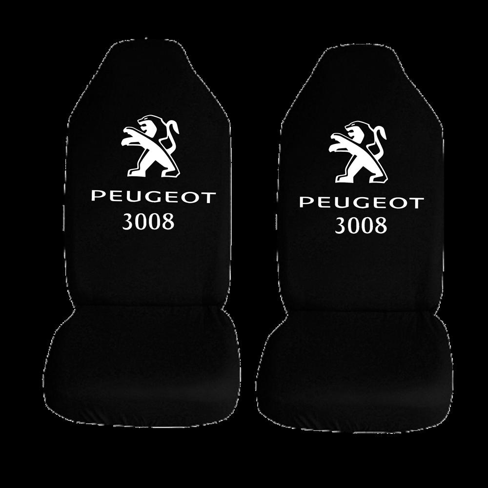 Peugeot 3008 Ozel Araba Oto Koltuk Kilifi On Arka Takim Siyah Penye Araca Ozel Baskili Bayilere Ozel Kdv