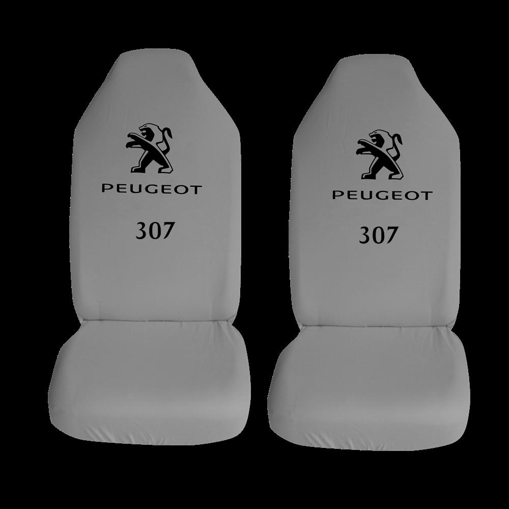 Peugeot 307 Ozel Araba Oto Koltuk Kilifi On Koltuklar Gri Penye Araca Ozel Baskili Bayilere Ozel Kdv
